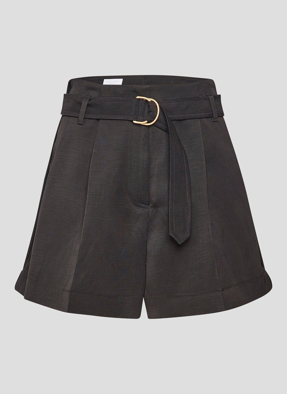 ESCADA High Rise Belted Shorts