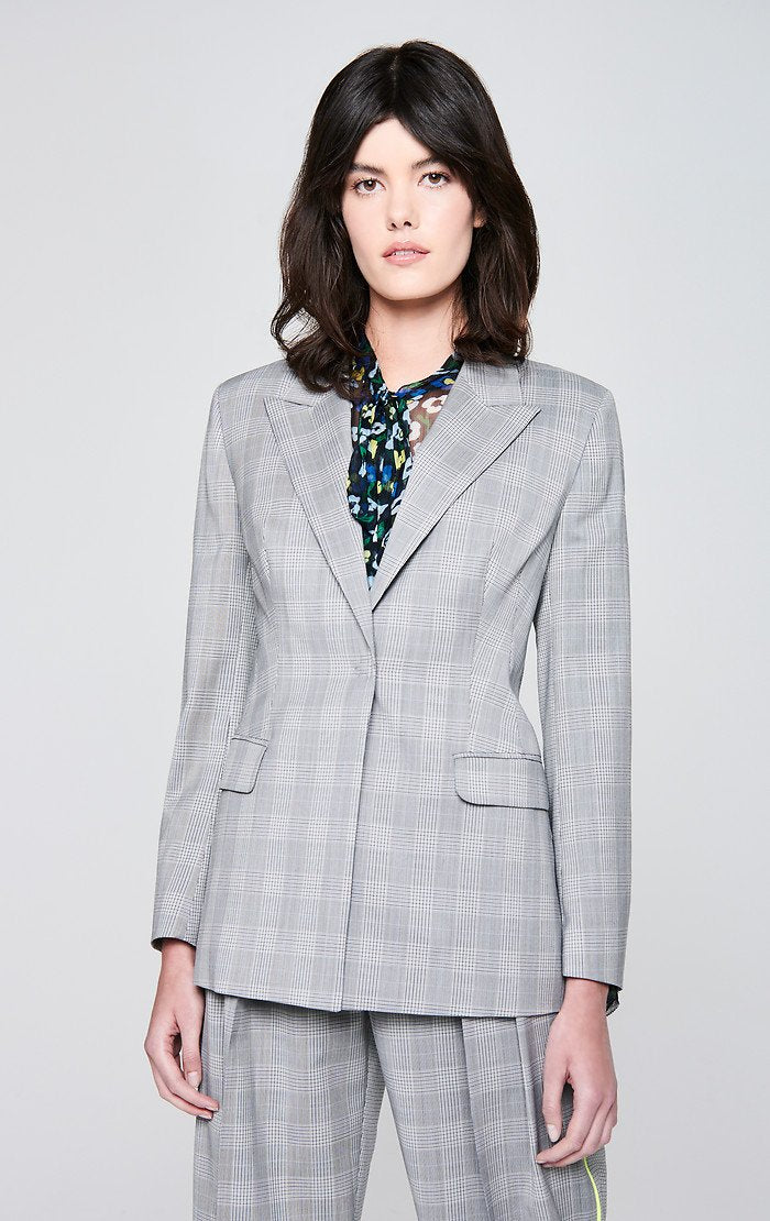 Wool Check Blazer - ESCADA ?id=16179944554628
