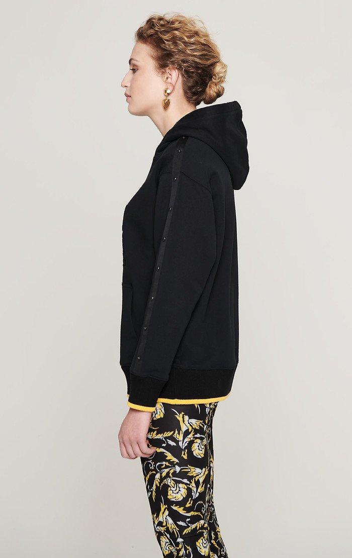 ESCADA Embossed Hooded Sweatshirt