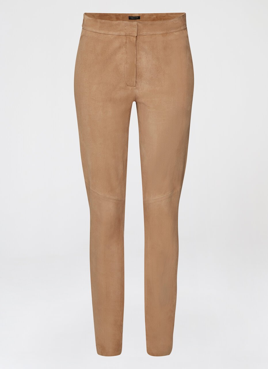 ESCADA Stretch-Suede Pants