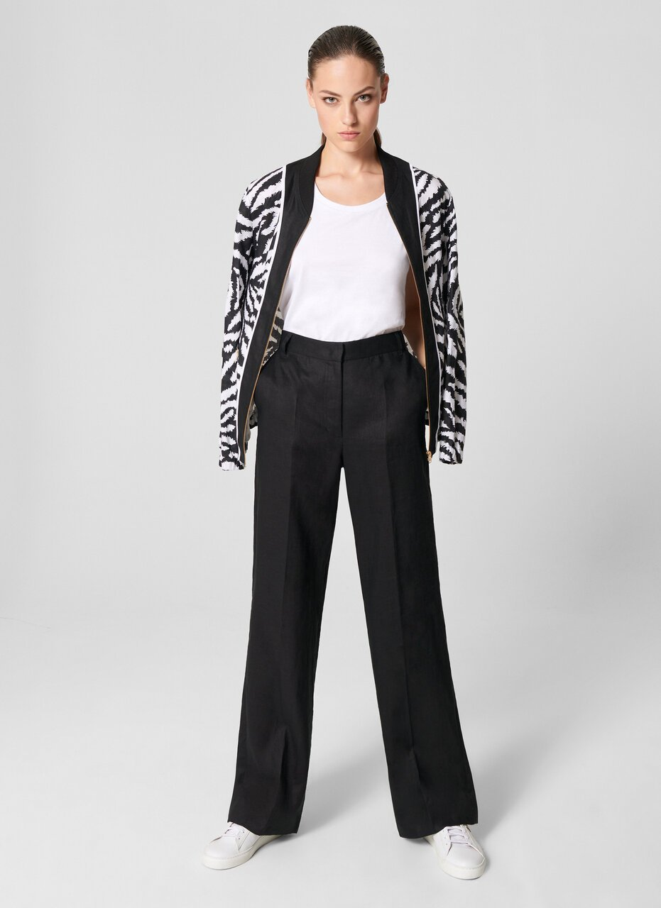 Linen Straight Pants - ESCADA ?id=15624849031300