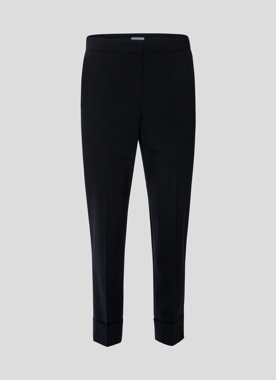 Virgin Wool Cropped Pants - ESCADA ?id=16179933413508