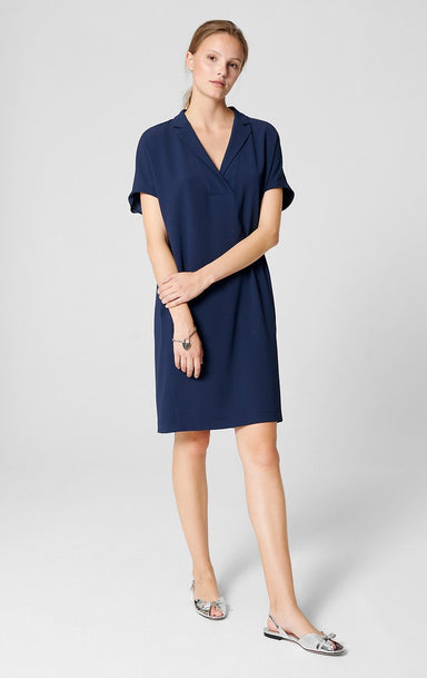 Cap-Sleeve Tunic Dress - ESCADA ?id=16402028167300