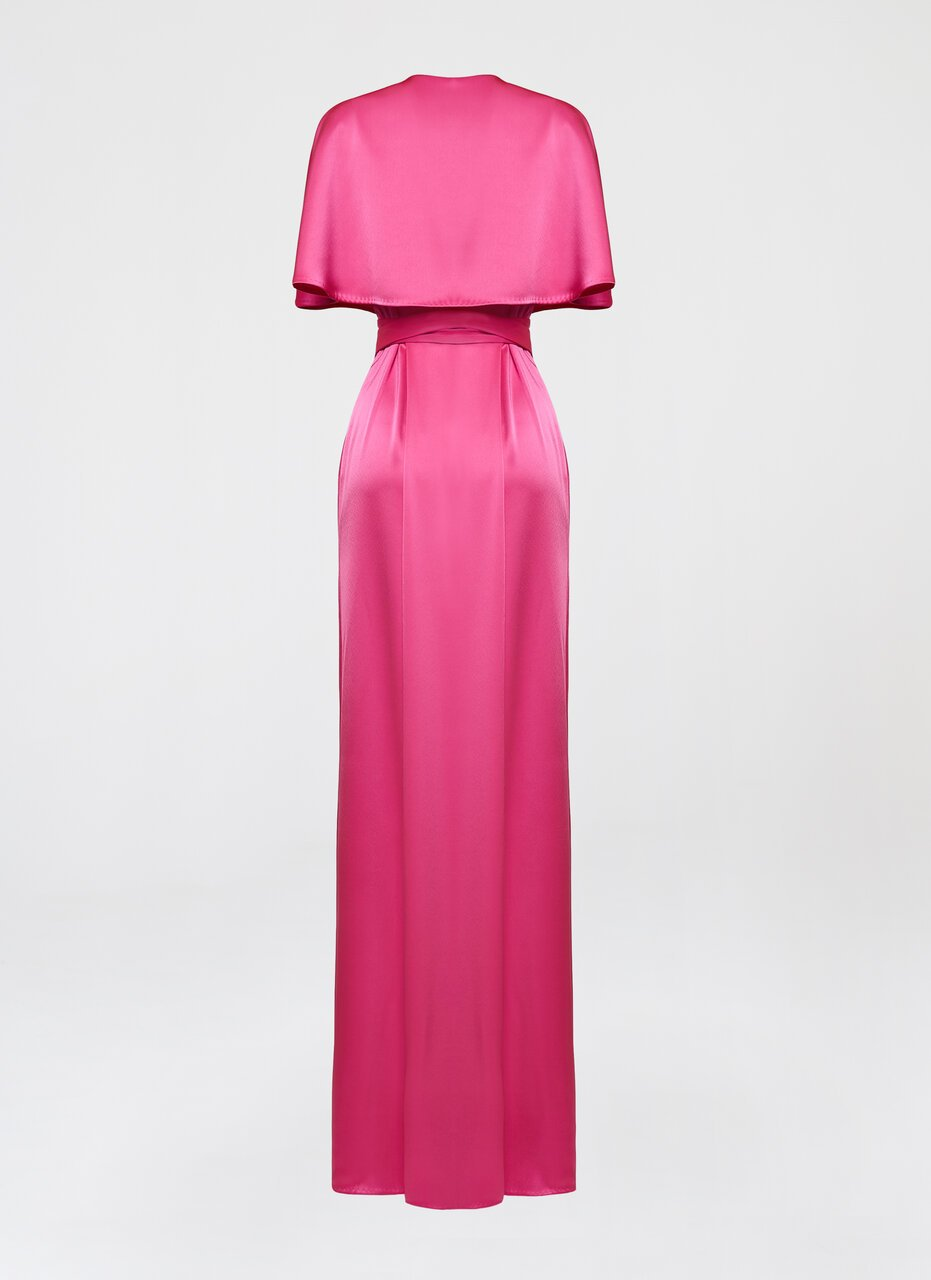 Fluent satin gown - ESCADA ?id=16401991106692