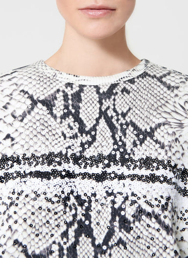 ESCADA Printed And Embroidered Sweatshirt