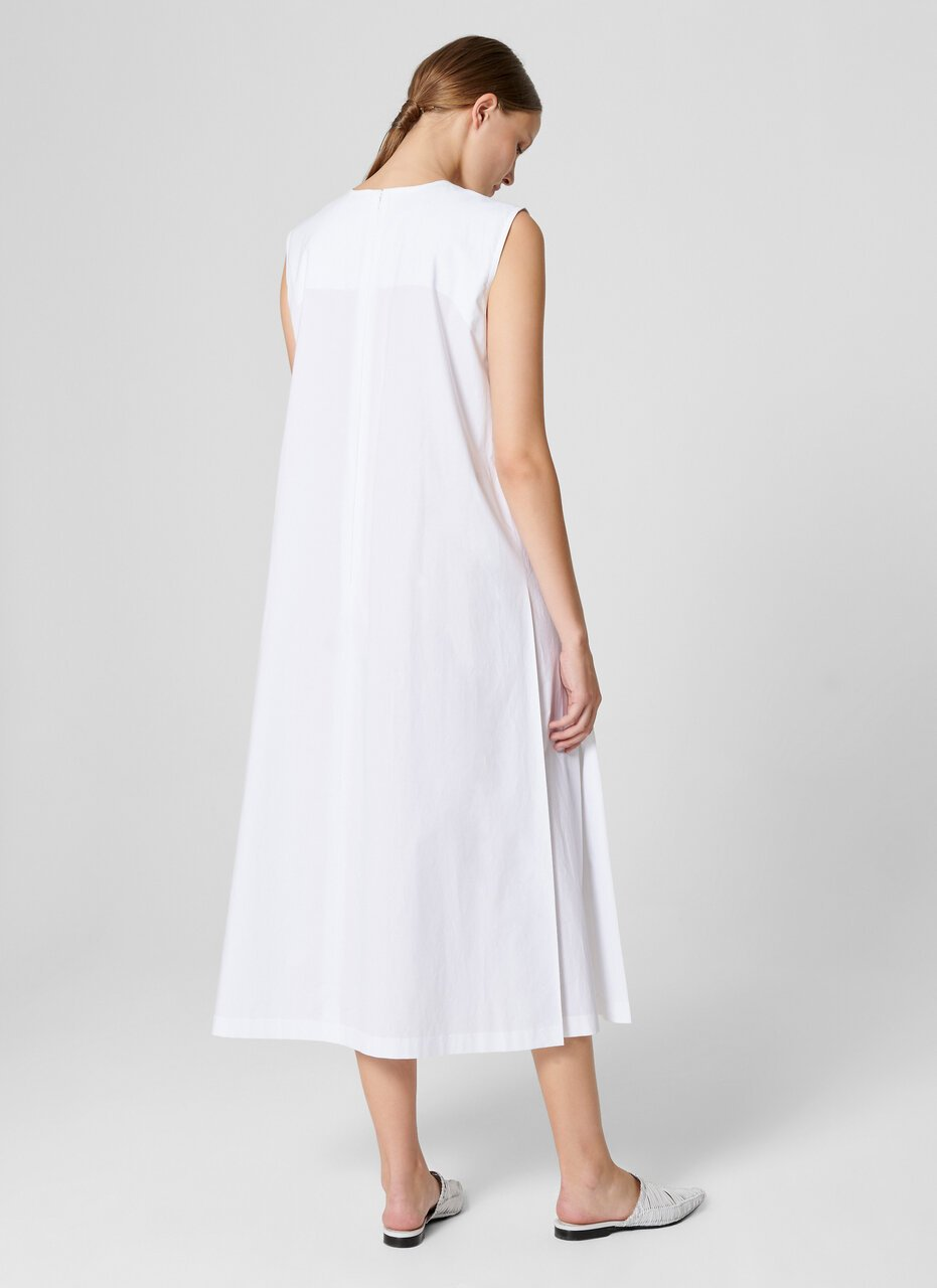 Cotton A-line Midi Dress - ESCADA ?id=16402068963460