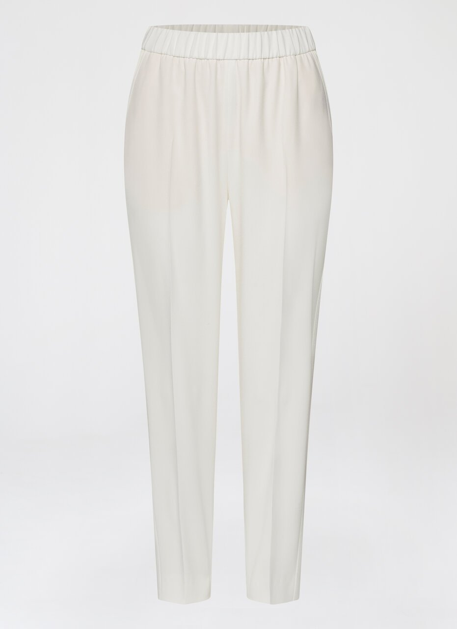ESCADA Slip on pant with tuxedo stripe