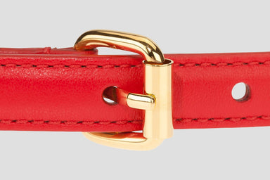 Leather Chain Belt - ESCADA