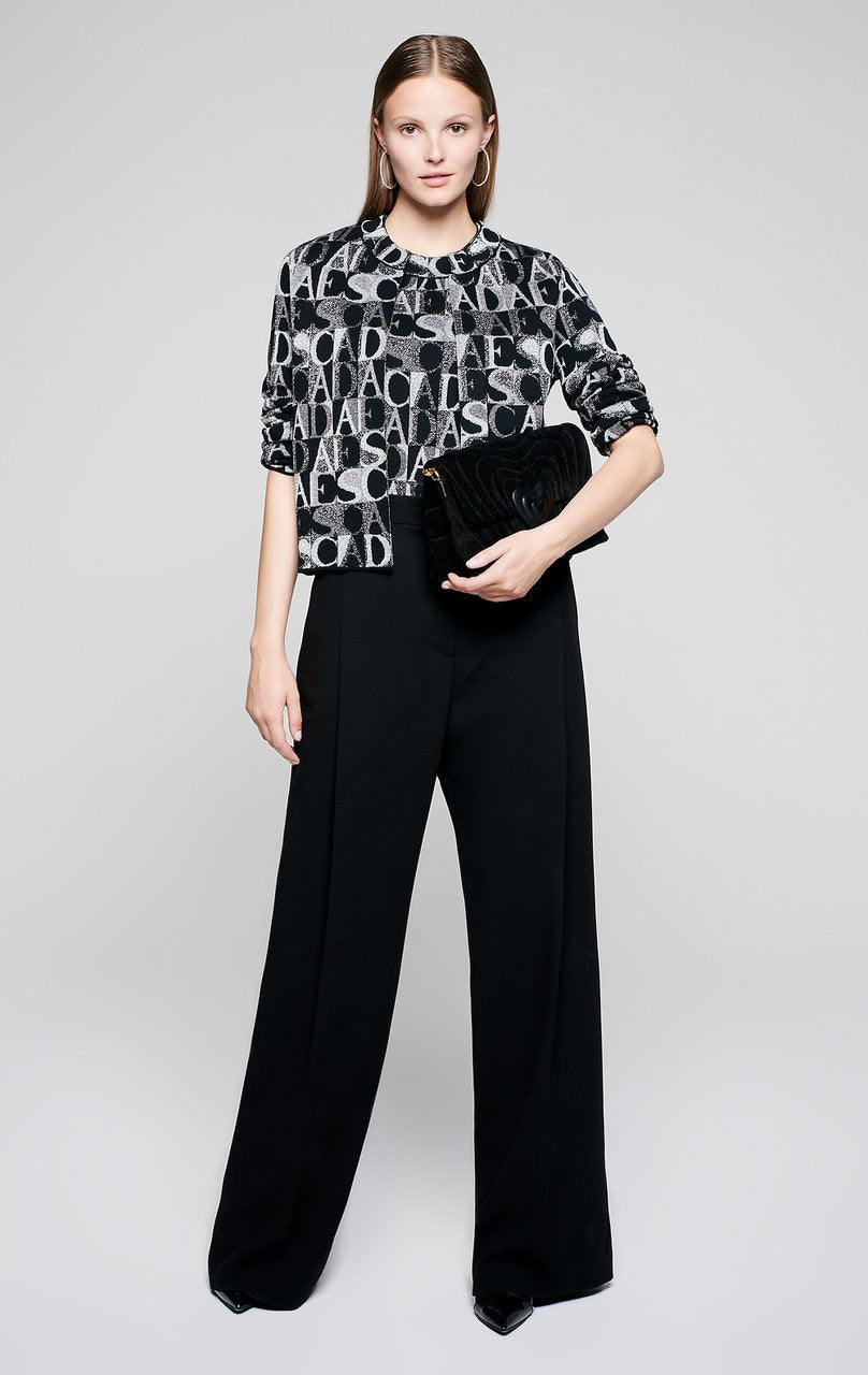 ESCADA Logo Jacquard Lurex Top