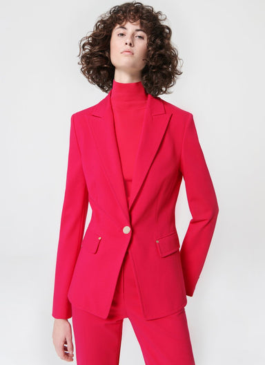 Fitted jersey blazer - ESCADA ?id=16490174513284