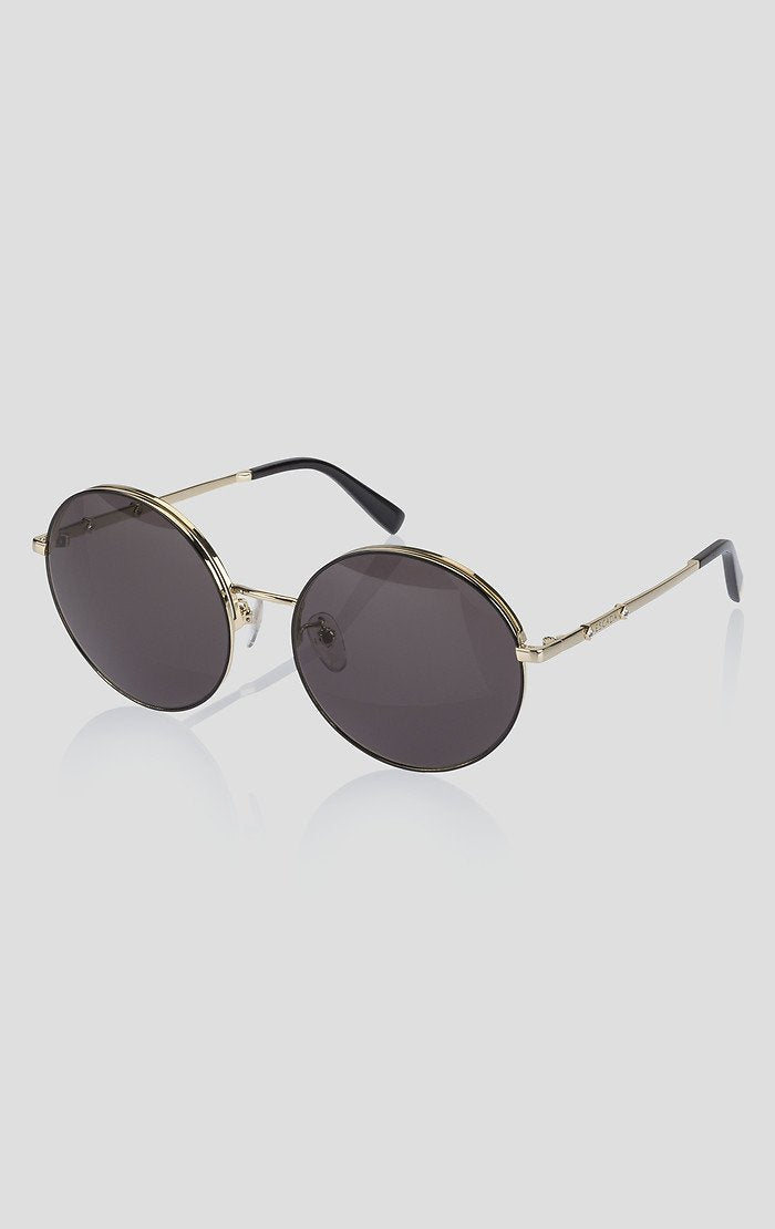 ESCADA Round Crystal-Detail Sunglasses