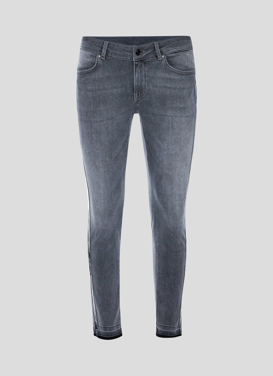 ESCADA Side Stripe Skinny Jeans