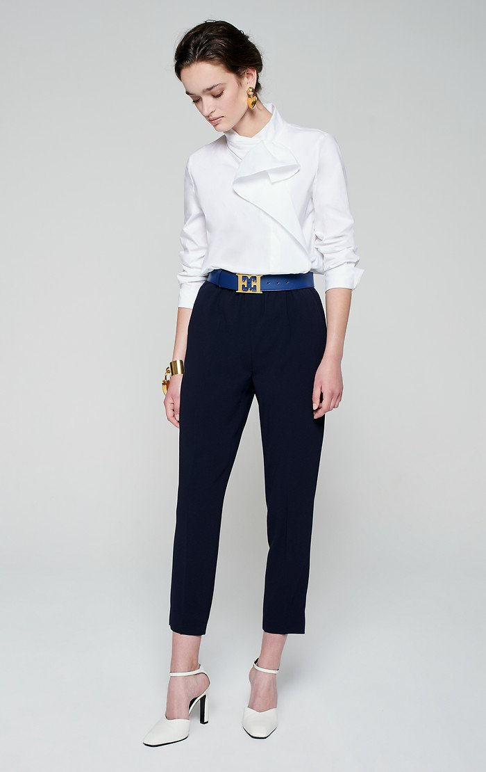 Crepe Tapered Pants - ESCADA ?id=16401107255428