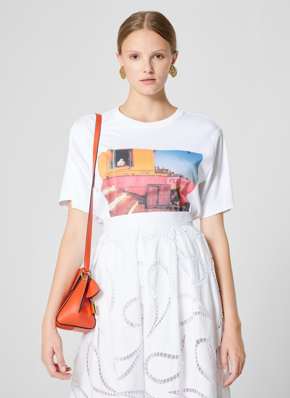 Photo Print T-shirt - ESCADA ?id=16464452845700