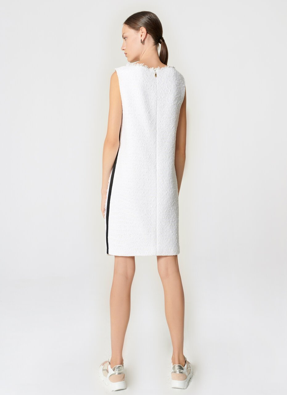ESCADA Cotton Tweed Shift Dress