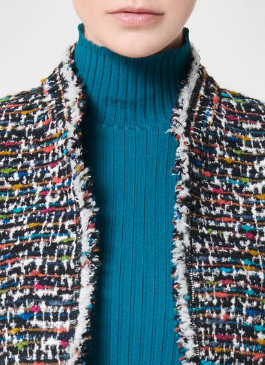ESCADA Rich Multicolor Tweed Jacket