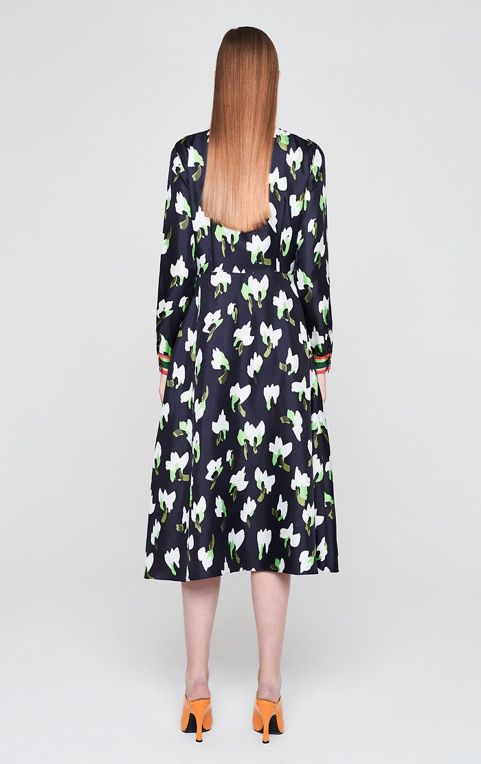 Silk Floral Shirt Dress - ESCADA ?id=16179932332164