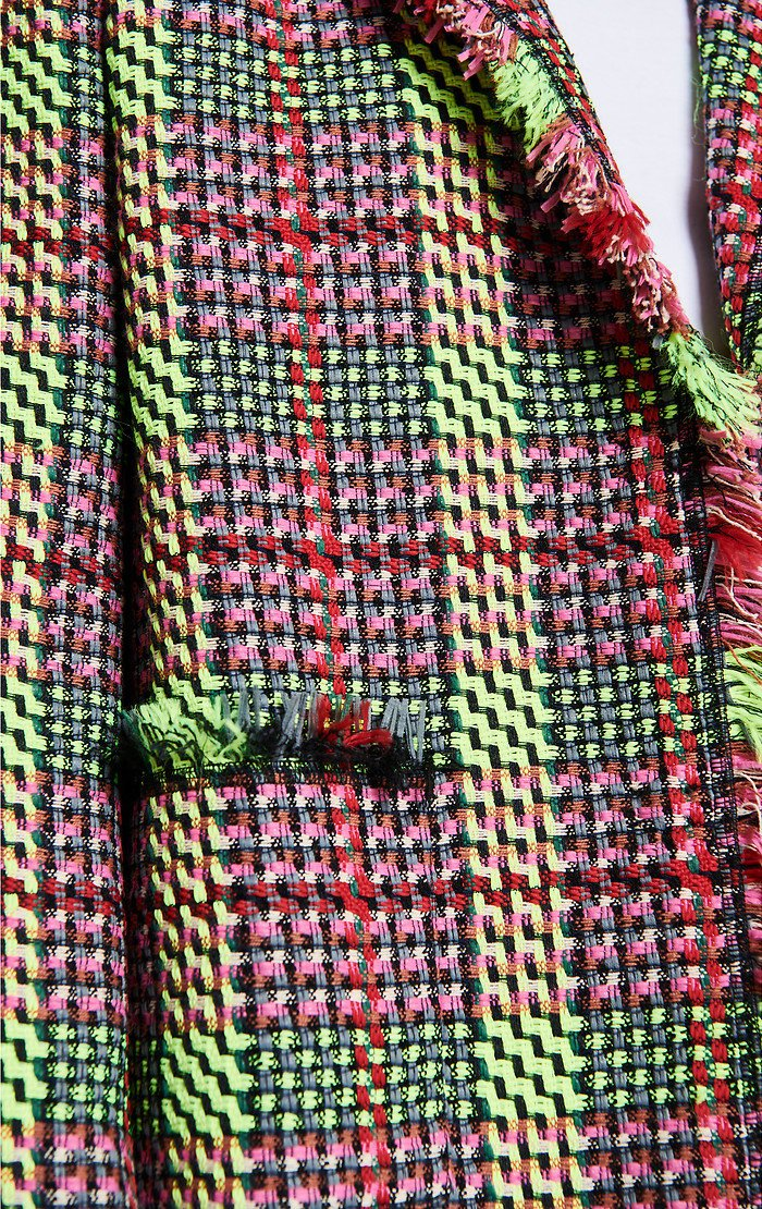 Multicolor Check Tweed Jacket - ESCADA ?id=16179942981764