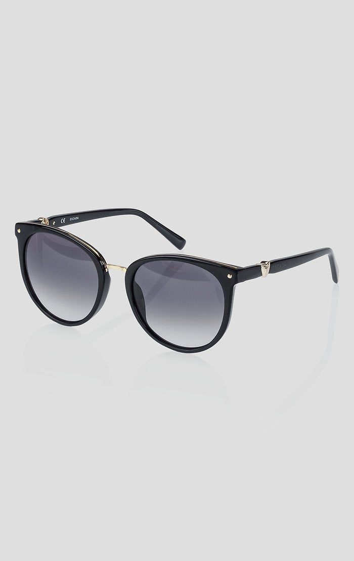ESCADA Oval Acetate Sunglasses