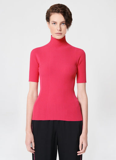 Viscose Blend Turtle Neck Top - ESCADA ?id=16489914925188