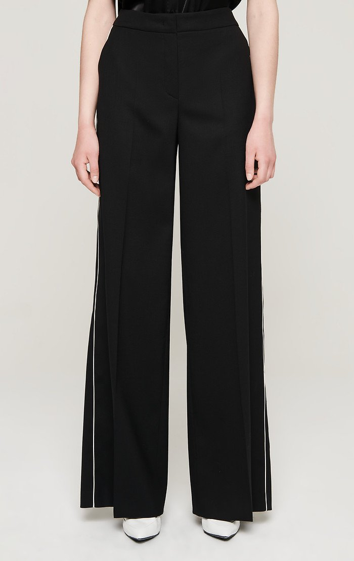 Wool Wide Leg Pants - ESCADA ?id=16181853192324