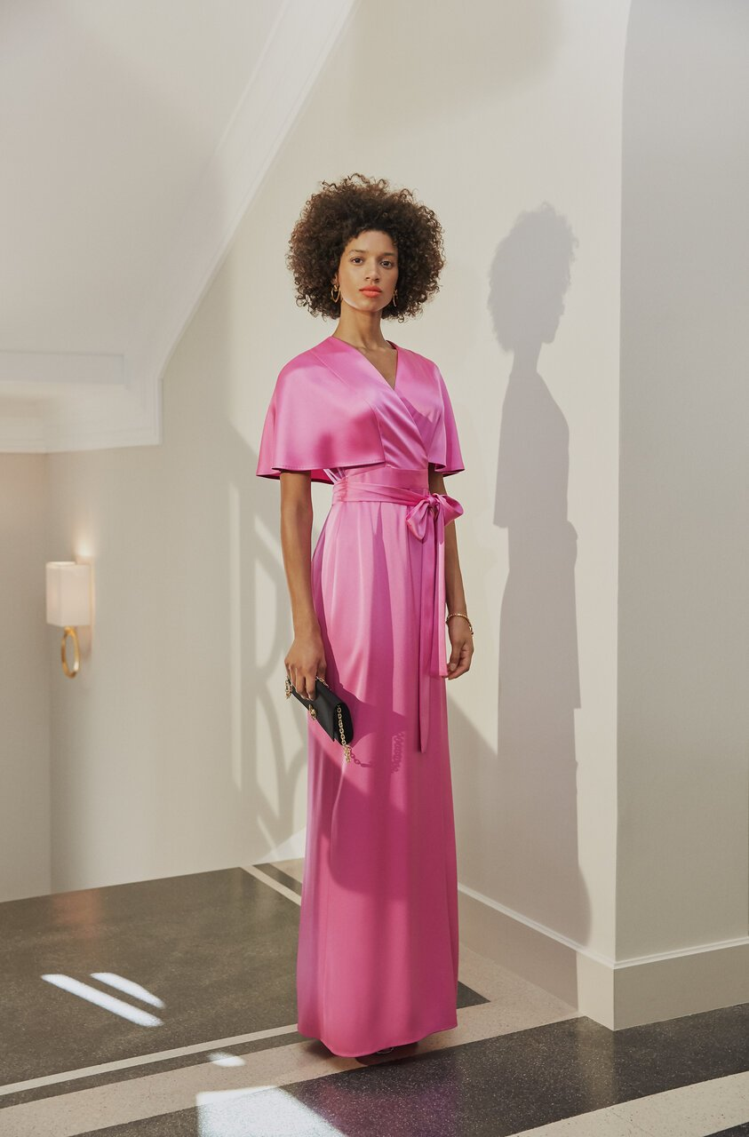 Fluent satin gown - ESCADA ?id=16401991041156