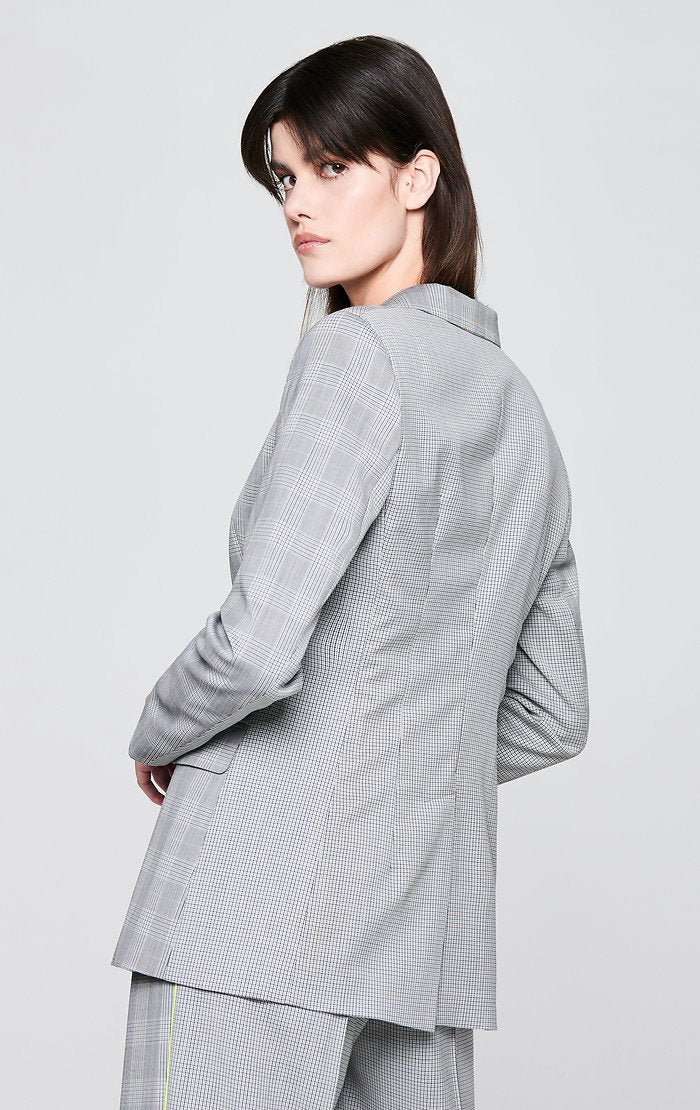 Wool Check Blazer - ESCADA ?id=16179944620164