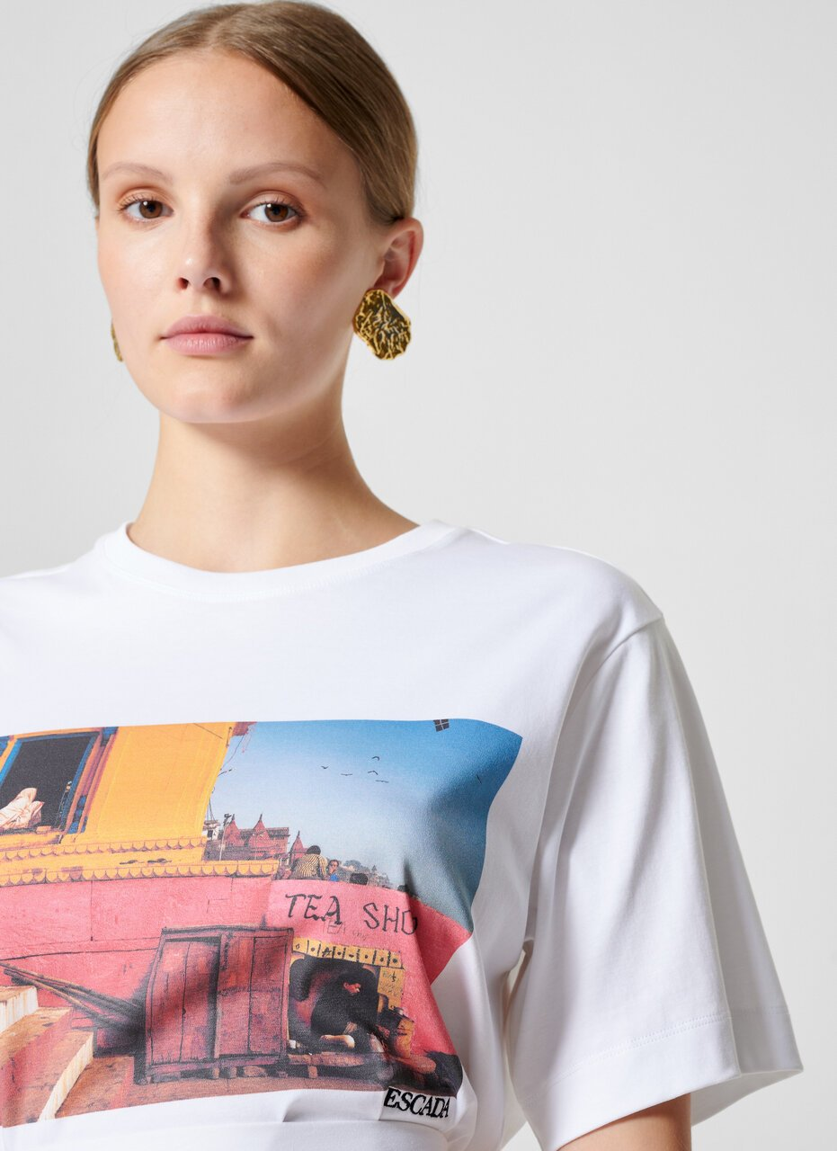 Photo Print T-shirt - ESCADA ?id=16464452976772