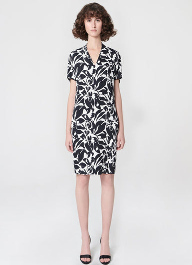 ESCADA Printed viscose dress