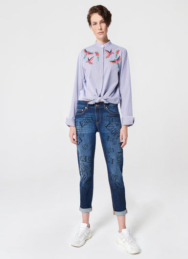 All Over Logo Printed Boyfriend - ESCADA ?id=16489849651332