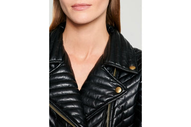 ESCADA Quilted Leather Heart Jacket