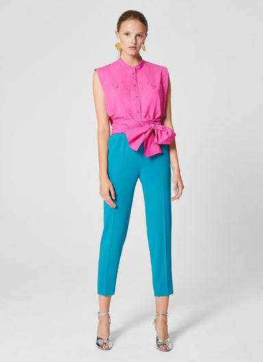 Crepe Tapered Pants - ESCADA ?id=16402015879300
