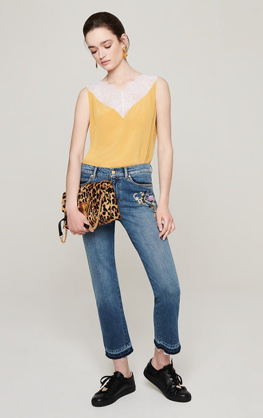 Floral Embroidered Jeans - ESCADA ?id=16183912005764