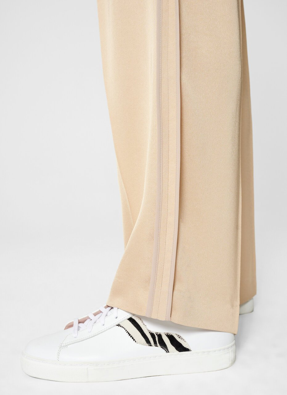 Crepe Belted Wide-Leg Pants - ESCADA ?id=16464465625220