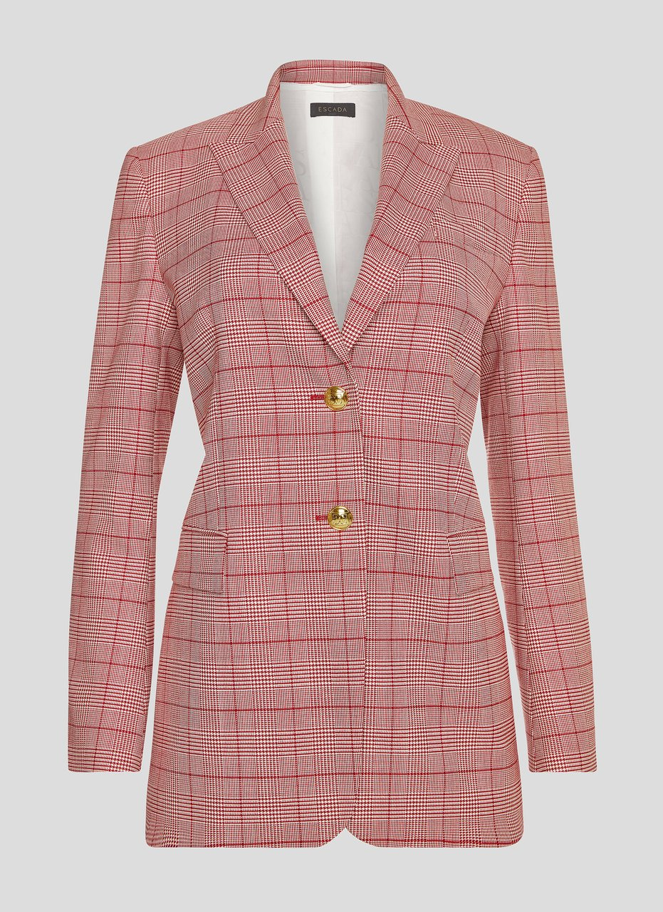 Virgin Wool Check Blazer - ESCADA ?id=16183837753476