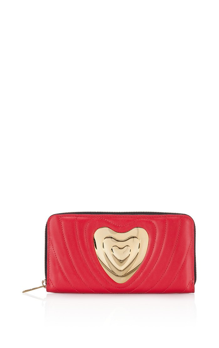 ESCADA Leather Heart Wallet