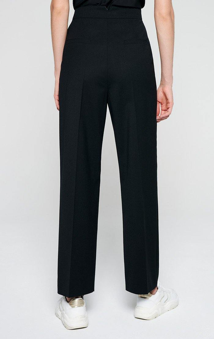 ESCADA Wool Blend Wide Leg Pants