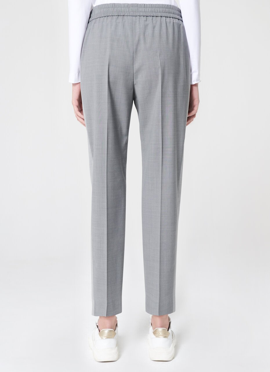 ESCADA Wool Side Stripe Pants