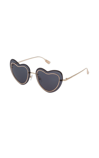 ESCADA Heart-Shaped Sunglasses