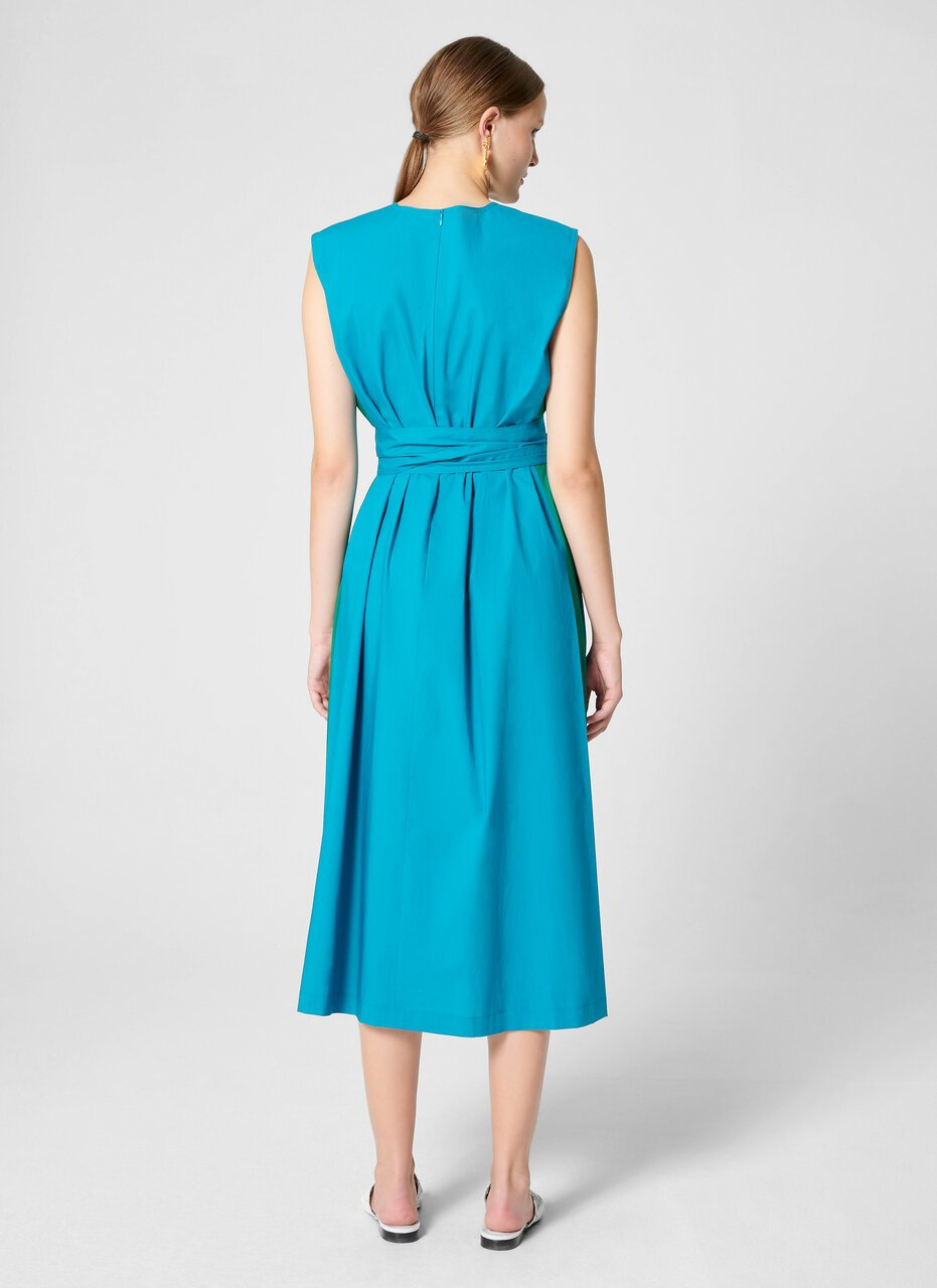 Cotton A-line Midi Dress - ESCADA ?id=16402069192836