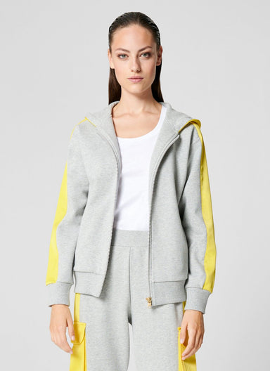 Hooded Jersey Jacket - ESCADA ?id=16464456319108