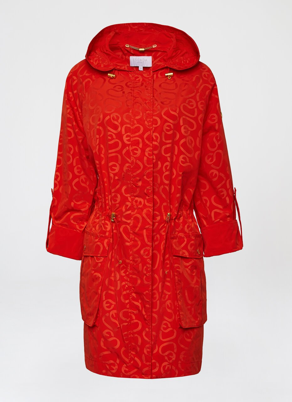 Allover print parka - ESCADA ?id=16464450093188