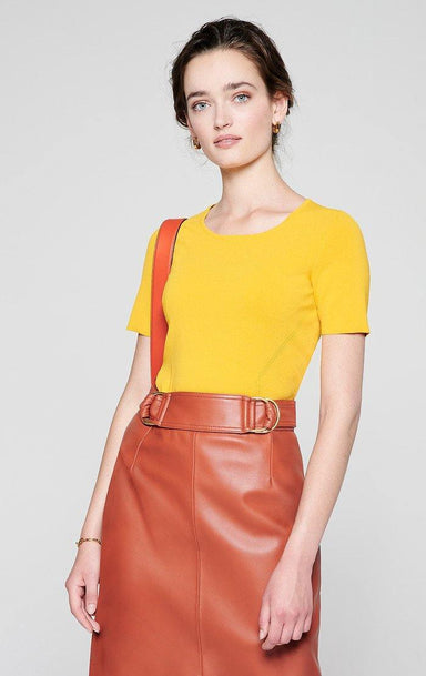 ESCADA Short-Sleeve Sweater
