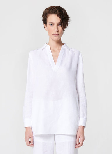 Linen Tunic Top - ESCADA ?id=16401992384644