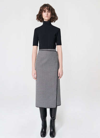 Doubleface wool wrap skirt - ESCADA ?id=16490204102788