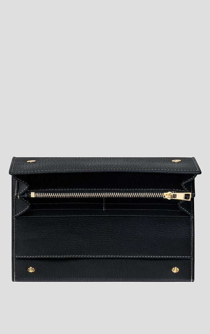 ESCADA Leather Monogram Wallet