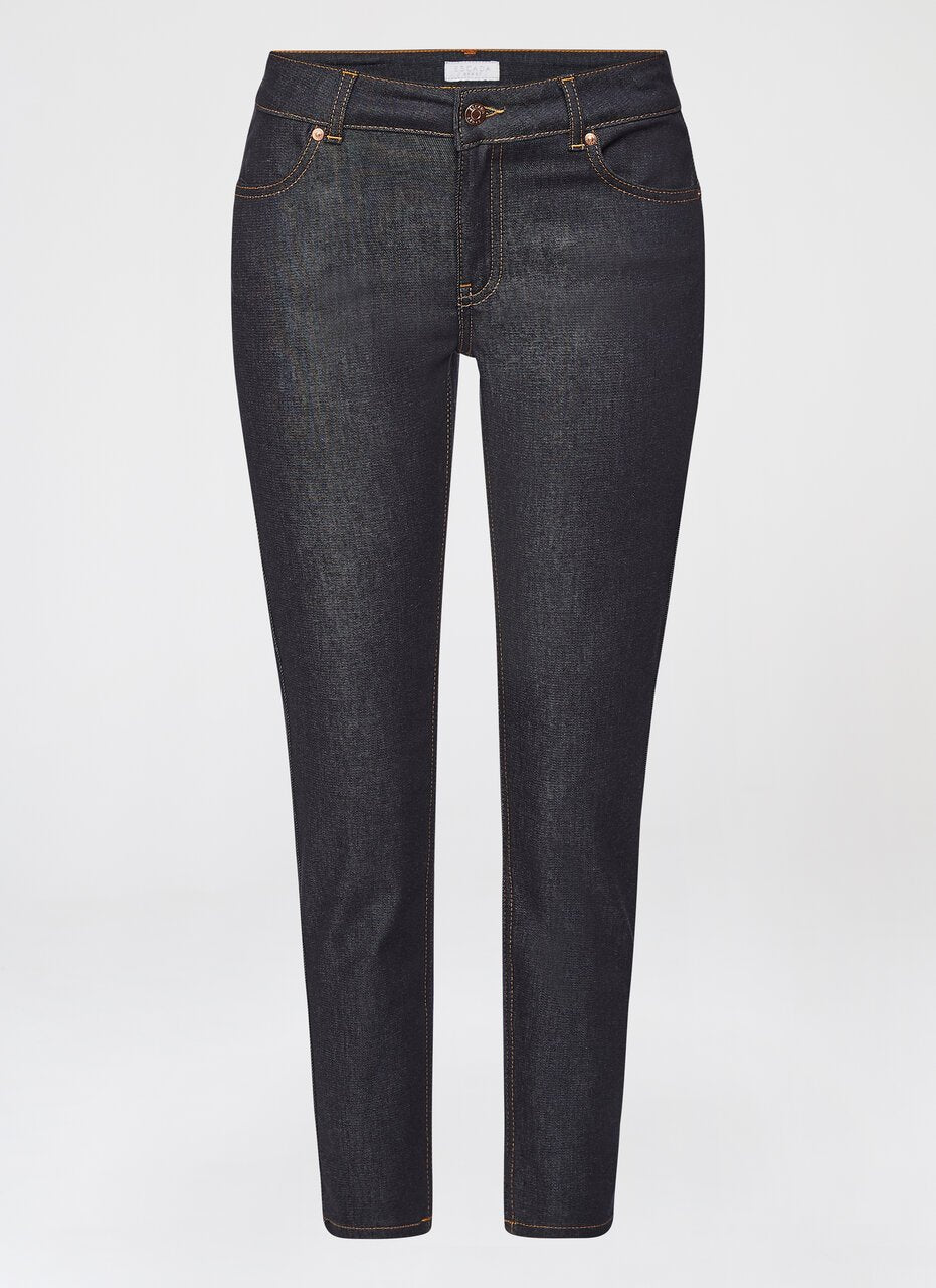 ESCADA Cropped Blue Denim