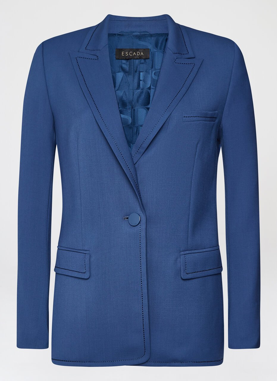 Wool stretch blazer - ESCADA ?id=16490173923460