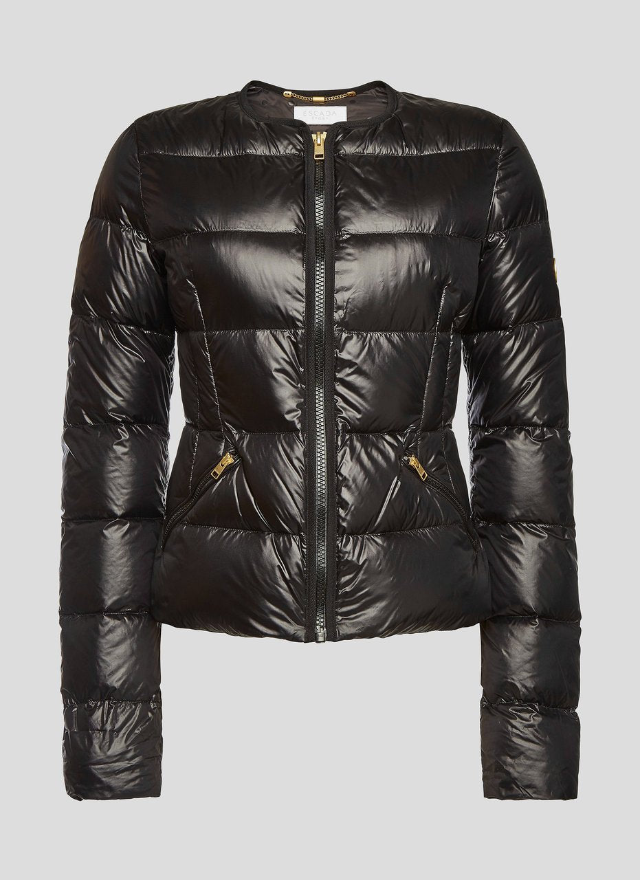 Glossy Quilted Down Jacket - ESCADA ?id=16401099260036