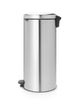Pedal Bin NewIcon 30 Litre - Fingerprint Proof Matt Steel